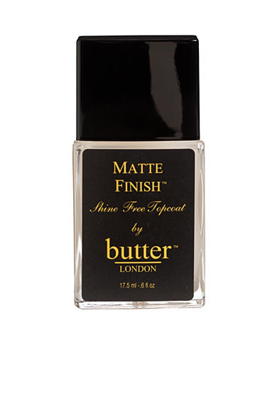 butter LONDON Matte Finish Topcoat