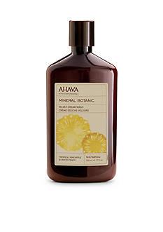 AHAVA Mineral Botanic Pineapple & Peach Cream Wash