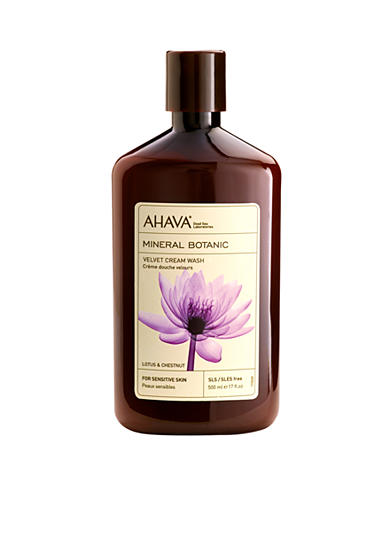 AHAVA Mineral Botanic Lotus & Chestnut Body Wash