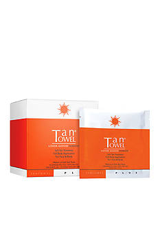 TanTowel® Full Body Plus 15 Pack Self-Tanning Towelettes