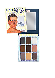 the Balm® cosmetics Meet Matt(e) Nude Eyeshadow Palette