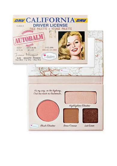 the Balm® cosmetics Autobalm Face Palettes
