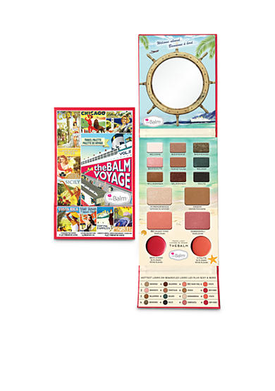 the Balm® cosmetics theBalm Voyage Vol.2 Face Palette
