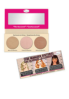 the Balm cosmetics Limited Edition The Manizer Sisters Luminizing Collection