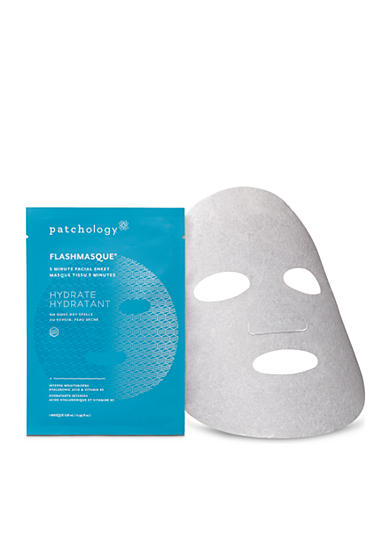 patchology® FlashMasque 5 Minute Facial Sheet Hydrate-Single Pack