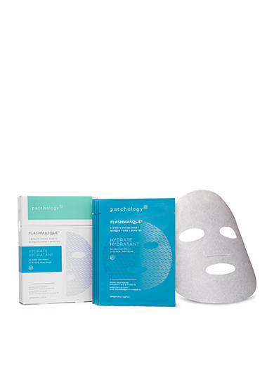 patchology® FlashMasque® 5 Minute Facial Sheets Hydrate 4 Pack