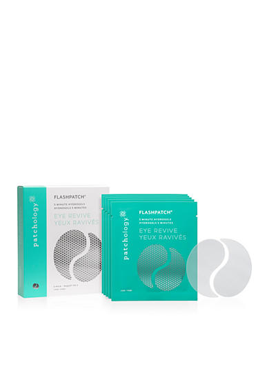 patchology® FlashPatch 5 Minute Hydrogels Eye Revive-5 Pack