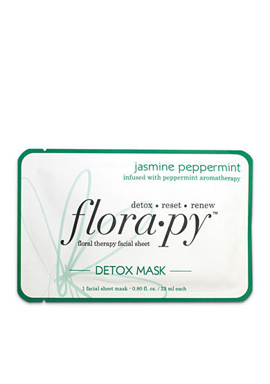 florapy™ Detox Sheet Mask - Jasmine Peppermint