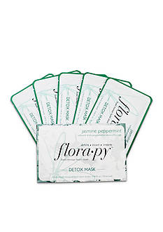 florapy™ Detox Sheet Mask - Jasmine Peppermint 5 Pack