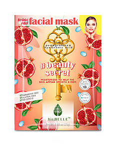 Biobelle #BeautySecret firming sheet mask with Pomegranate and Hyaluronic Acid