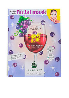 Biobelle #HappyHour Age-prevention sheet mask with Red Wine & Retinol