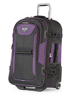 Travelpro T-Pro Bold 2 25-Inch Expandable Rollaboard -Black/Purple