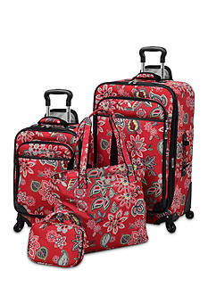 Waverly® Boutique 4-Piece Luggage Set
