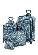 Waverly® Boutique 4-Piece Luggage Set Lace It