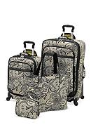 Waverly® Boutique 4-Piece Luggage Set Paddock