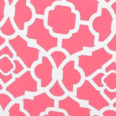 Waverly Bed & Bath Sale: Coral Waverly DUFFEL LATTICE CORAL