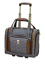 Kensington 15-in. 2-wheel Under the Seat Bag - Plaid