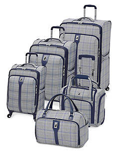 London Fog® Knightsbridge 360HL Luggage Collection -  Plaid