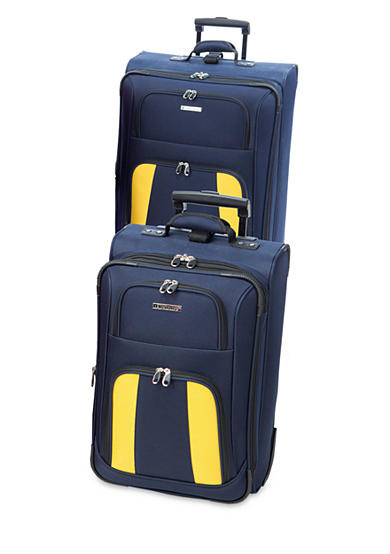 Leisure Feather Lite Luggage Collection - Navy