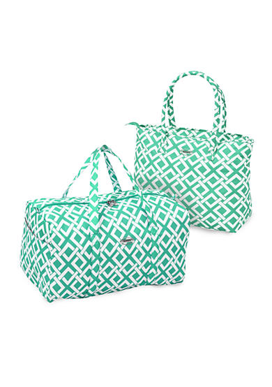 Waverly® Necessities Tote / Duffel   Mint Link