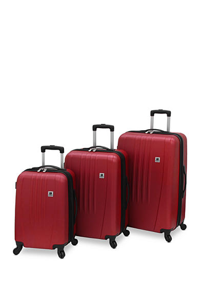Leisure Madison Hardside Spinner Luggage Collection - Red