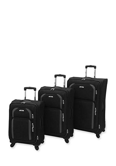 Leisure Superlight Spinner Luggage Collection - Black