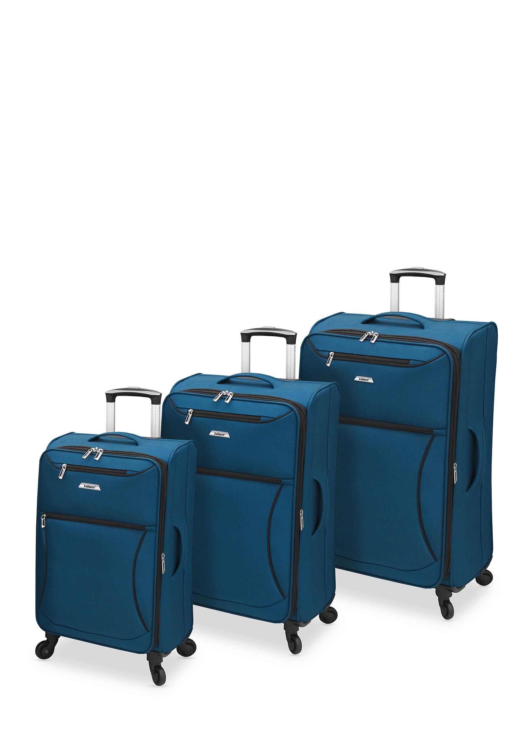 Leisure Vector FeatherLight Spinner Luggage Collection - Sapphire ...