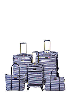 Jessica Simpson Paint Splash Luggage Colletion