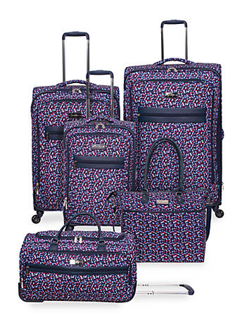 Jessica Simpson Floral Freedom Luggage Collection Belk