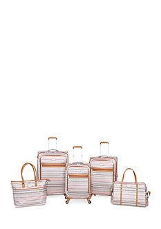 Jessica Simpson Malibu Luggage Collection -Tan