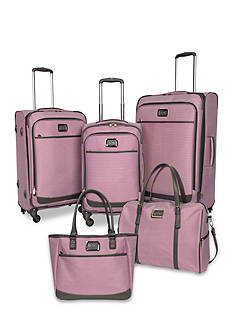 Jessica Simpson Breton Spinner Luggage Collection - Purple