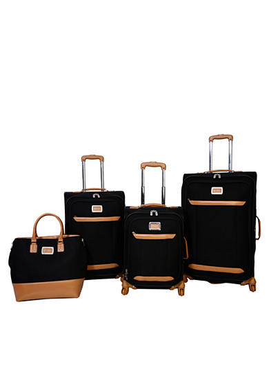Jessica Simpson Brights Luggage Collection - Black