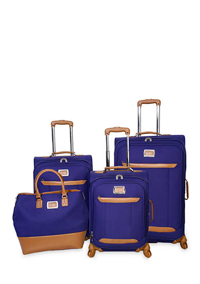 Jessica Simpson Brights Luggage Collection - Blue