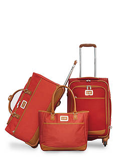 Jessica Simpson Breton Luggage Collection - Red