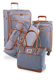Jessica Simpson Breton Spinner Luggage Collection - Navy