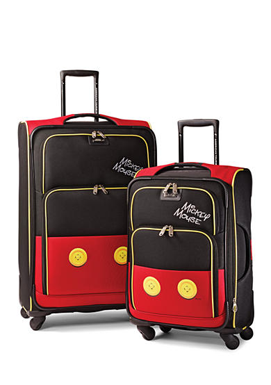 American Tourister Mickey Mouse Pants Softside Spinner Set