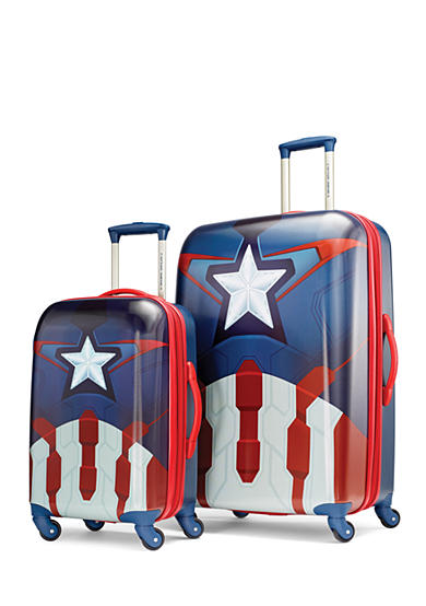 American Tourister Marvel Captain America Hardside Spinner Collection