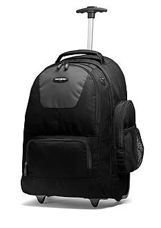 Samsonite 21-in. Wheeled Backpack - Black/Charcoal