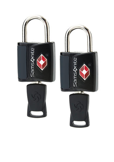 Samsonite® 2 Pack Travel Sentry Key Lock