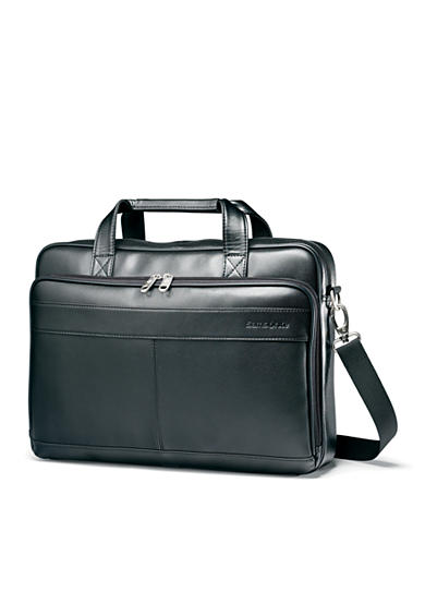 Samsonite® Leather Slim Brief