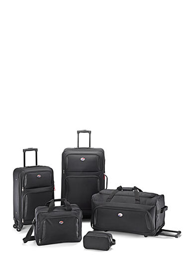 American Tourister 5-Piece Luggage Set Black