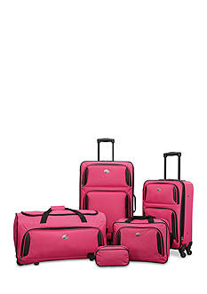 American Tourister 5-Piece Set in Pink