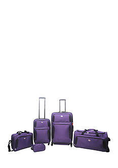 American Tourister 5-Piece Luggage Set - Purple