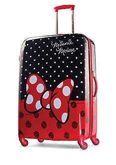 American Tourister 28-in. Minnie Mouse Red Bow Hardside Spinner