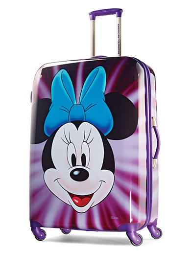 American Tourister 28-in. Minnie Mouse Face Hardside Spinner
