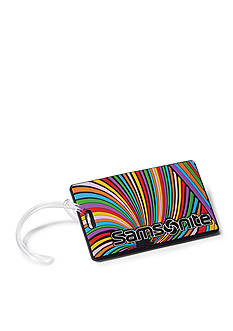 Samsonite® Psychedelic Luggage Tag Set