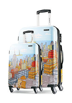 Samsonite® Cityscape Hardside Blue Luggage Collection  - Online Only