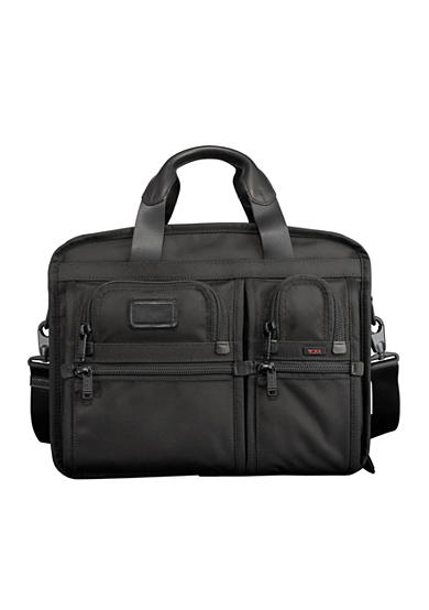 Tumi Alpha Expandable Organizer Laptop Brief