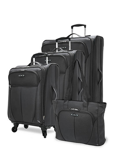 Skyway® Mirage Luggage Collection - Black - Online Only