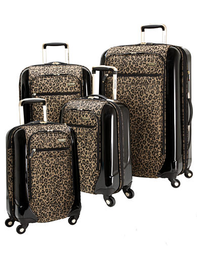 Ricardo Crystal City Luggage Collection - Golden Leopard